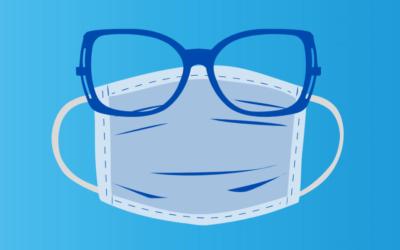 5 tips tegen aangedampte brillenglazen
