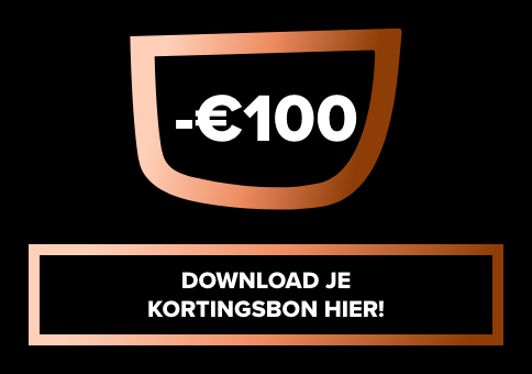 Download je kortingsbon van € 100